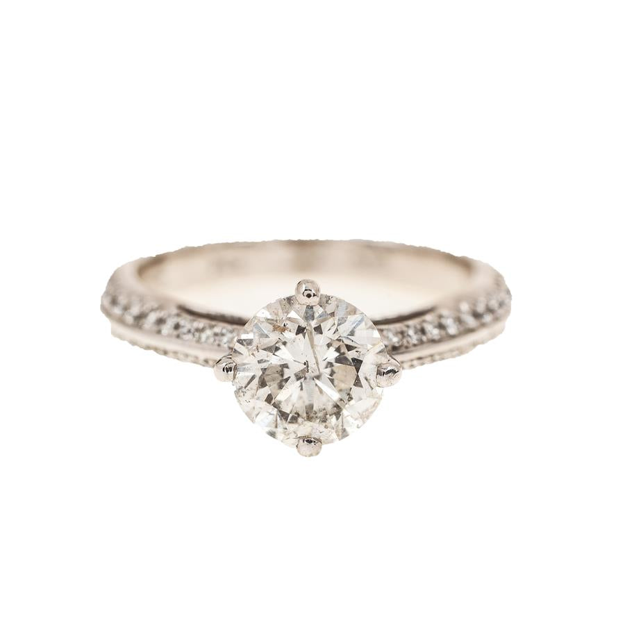Pre-Owned Platinum Diamond Engagement Ring