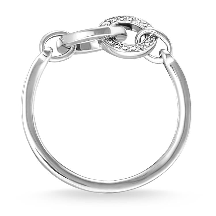 Thomas Sabo Together Silver Ring TR2141-051-14