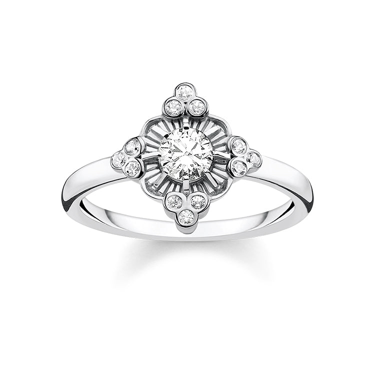 Thomas Sabo Silver Royalty Ring