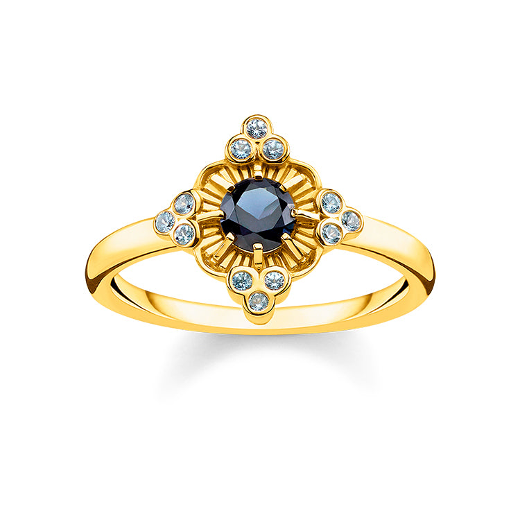Thomas Sabo Gold Royalty Ring