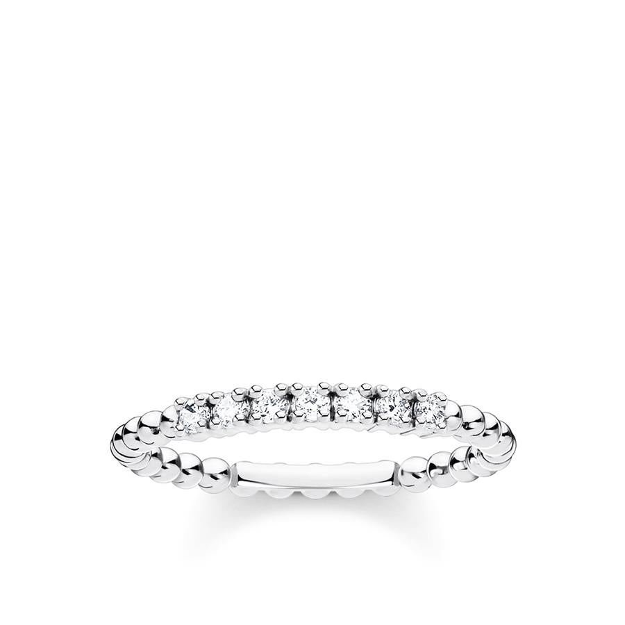 Thomas Sabo Ring Zirconia Dots Silver TR2323-051-14-54