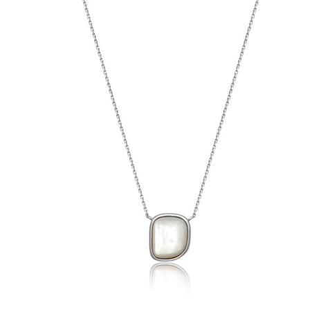 Achara Mother of Pearl Pebble Necklace