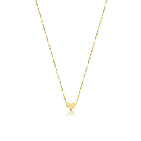 Achara Small Heart Pendant Necklace