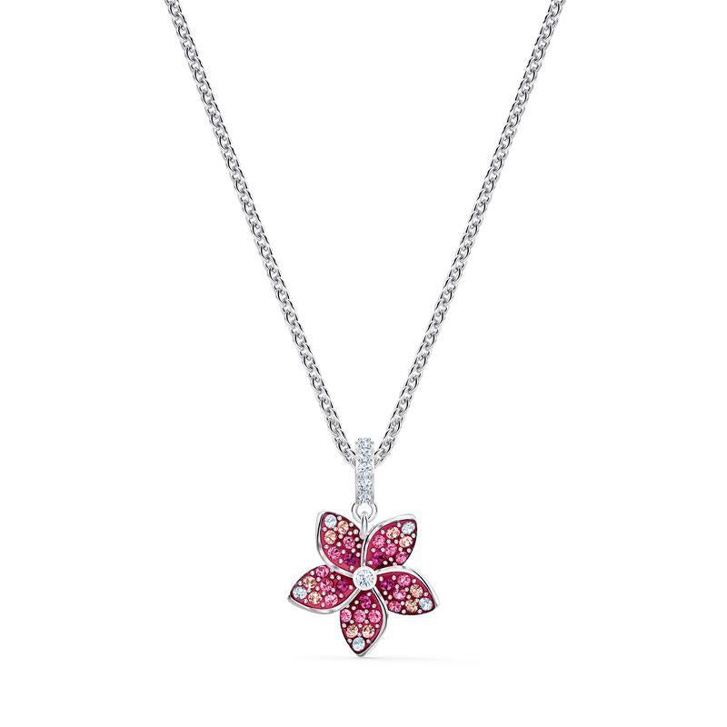 Swarovski Tropical Flower Pendant Pink 5519248