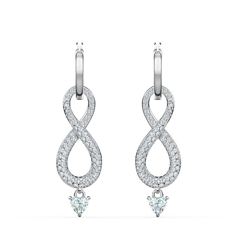 Swarovski Infinity Dangle Hoop Earrings 5520578