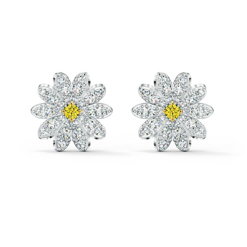 Swarovski Eternal Flower Daisy Stud Earrings 5518145