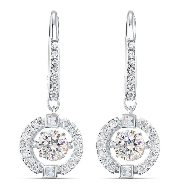 Swarovski Sparkling Dance Earrings Rhodium 5504652