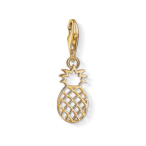 Thomas Sabo Gold Pineapple Charm 1439-413-39
