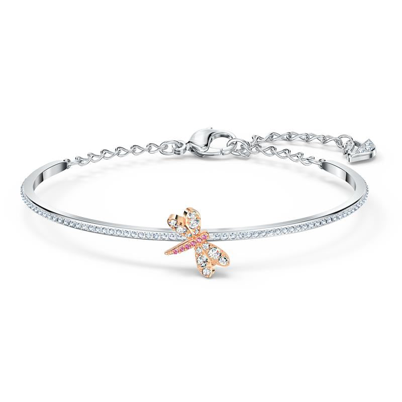 Swarovski Eternal Flower Butterfly Bangle 5518138