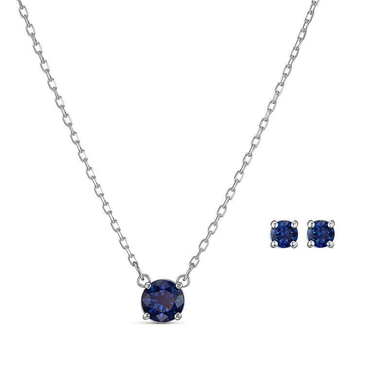 Swarovski Attract Round Set - Blue 5536554