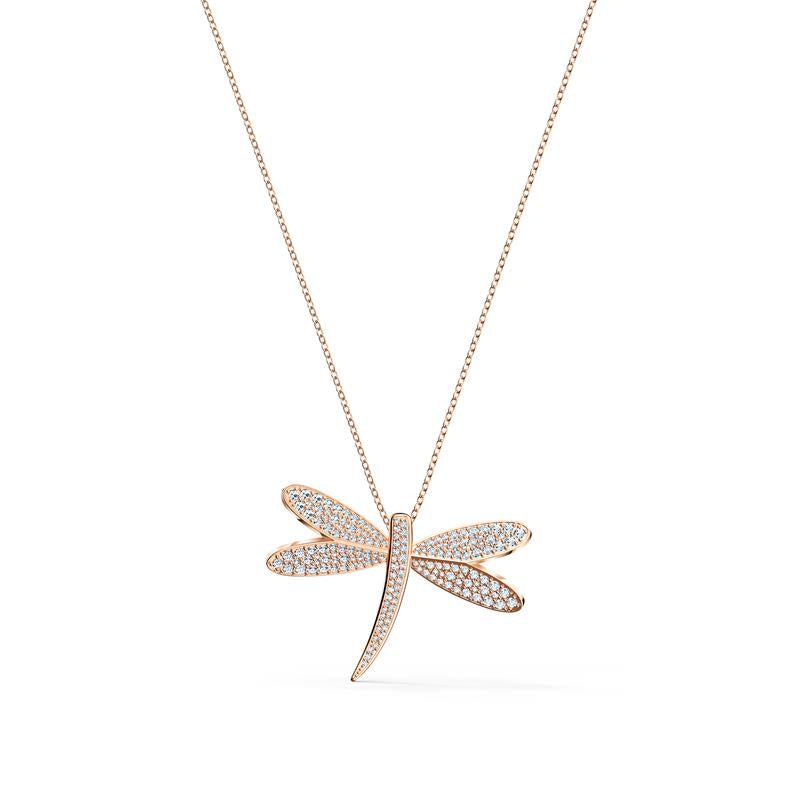 Swarovski Eternal Flower Dragonfly Necklace 5524856