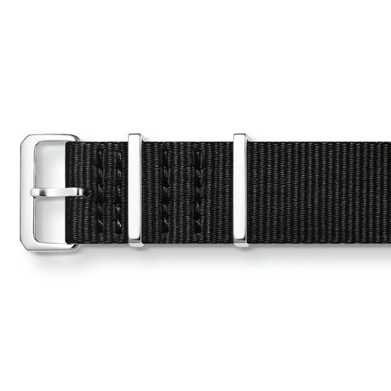Thomas Sabo Code Nato Black Watch Strap ZWA0308-276-11