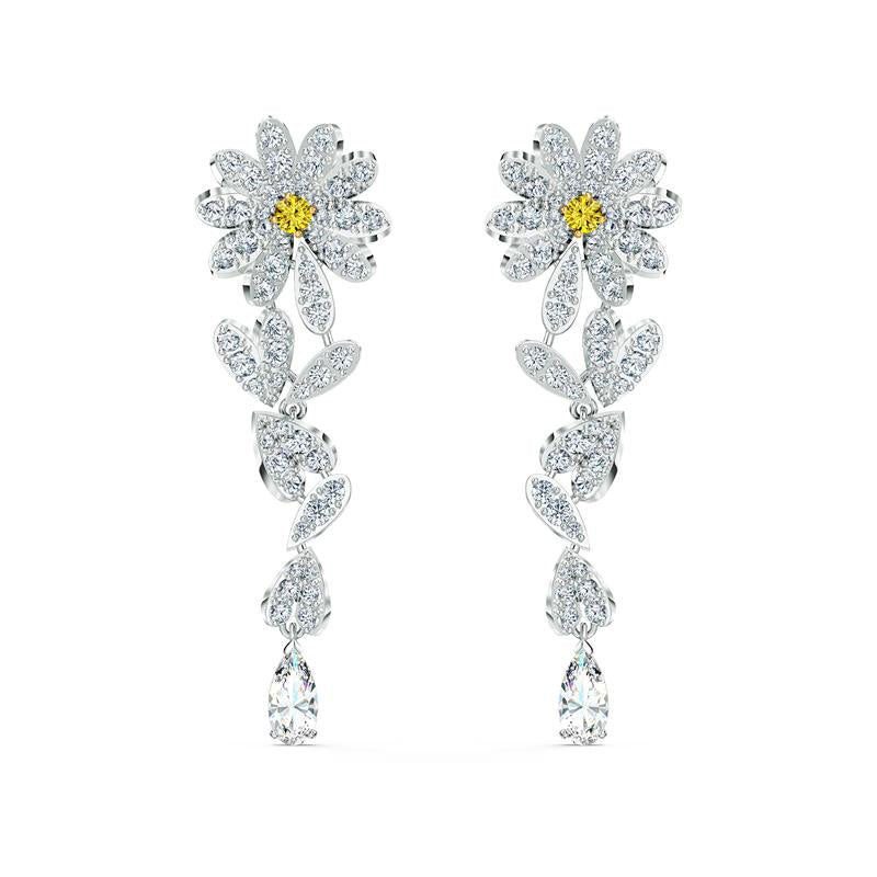 Swarovski Eternal Flower Daisy Earrings 5512655