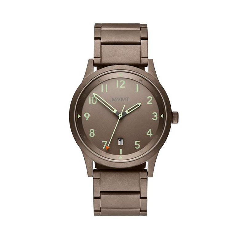 MVMT For Him Field Vert Taupe Watch 28000020