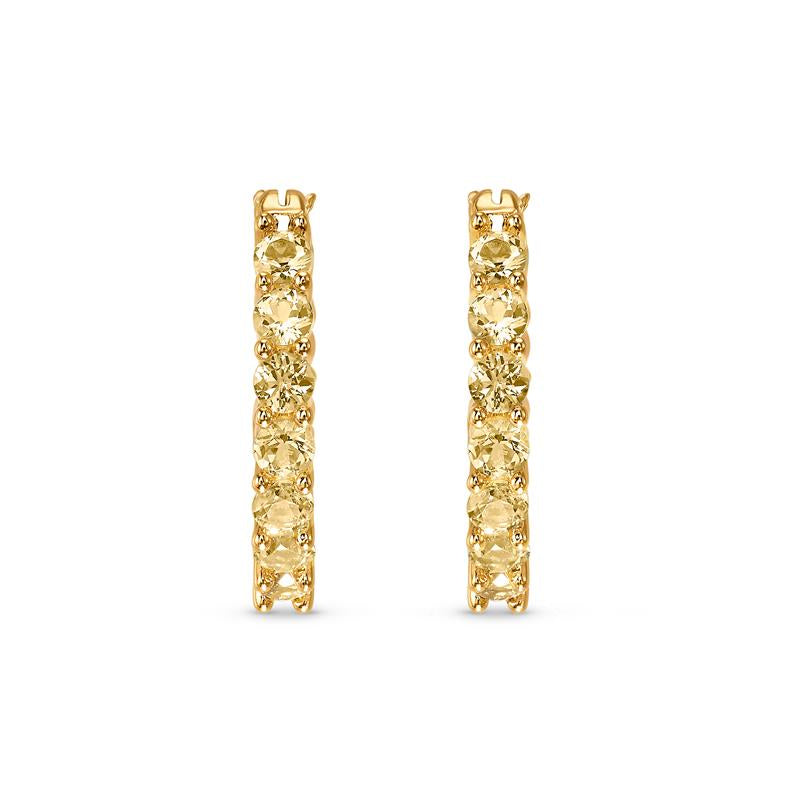 Swarovski Vittore Gold Hoop Earrings 5522880
