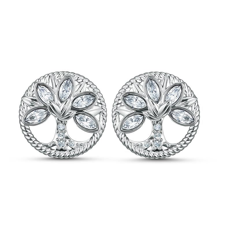 Swarovski Symbolic Tree of Life Stud Earrings 5540301