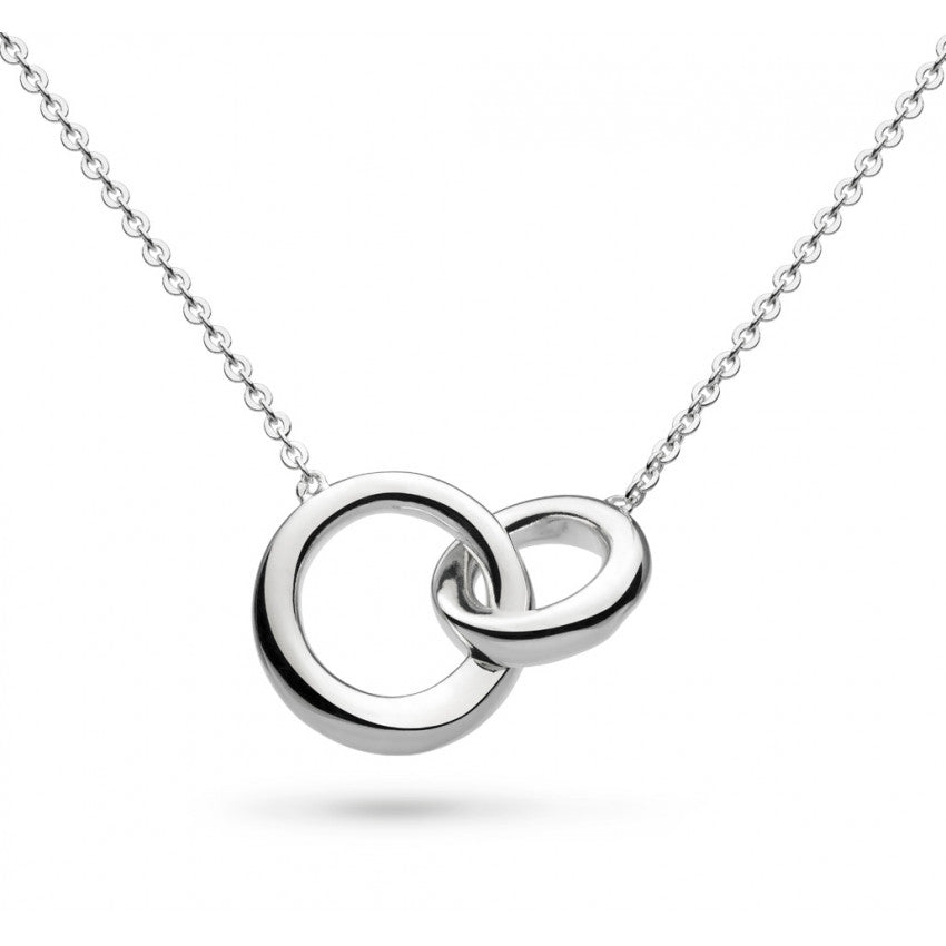 Bevel Cirque silver necklace