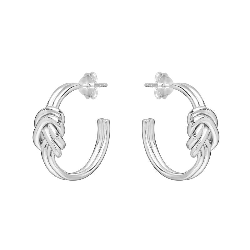 Annie Haak Lovers Knot Silver Earrings