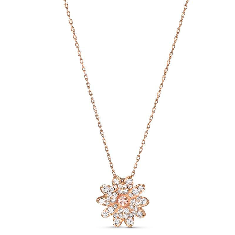 Swarovski Eternal Flower Pendant Rose Gold 5540973