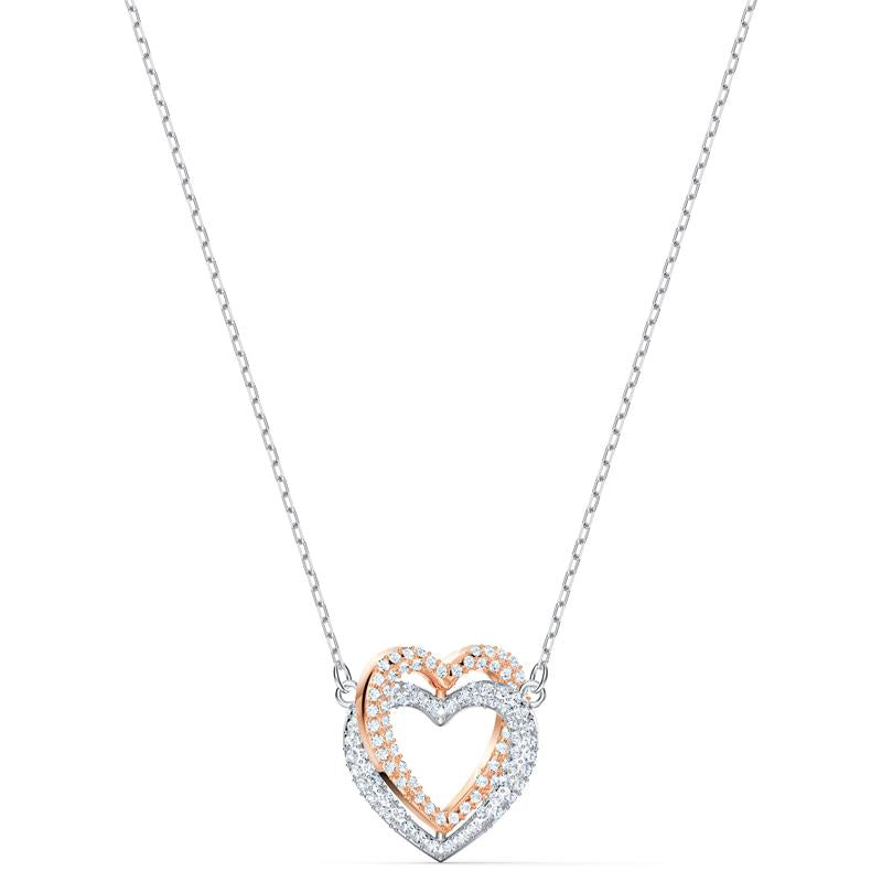 Swarovski Infinity Heart Double Necklace 5518868