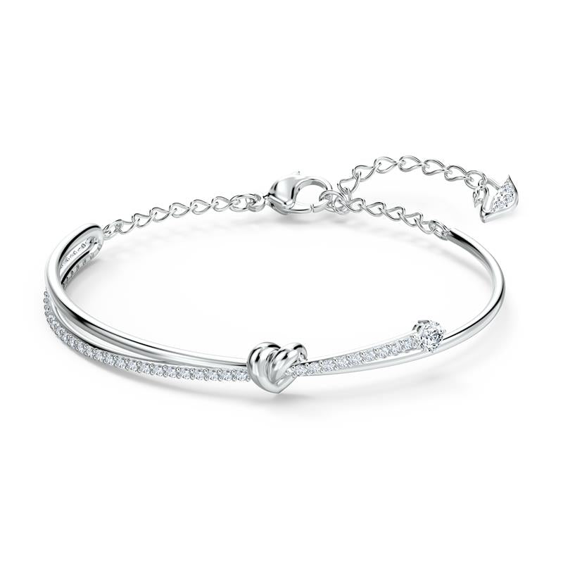 Swarovski Lifelong Heart Love Knot Bangle 5517944