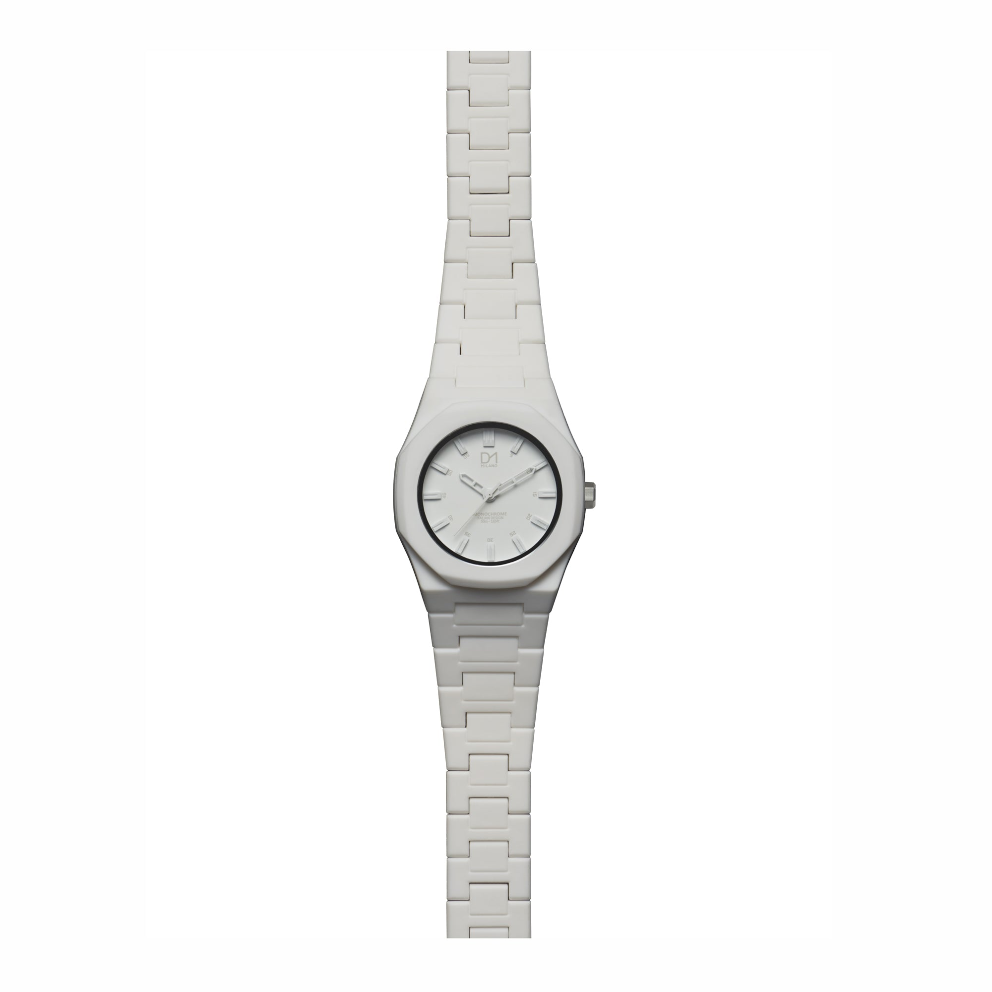36mm white watch
