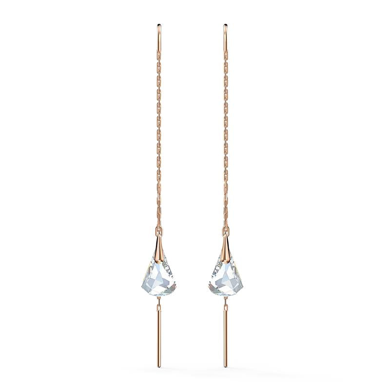 Swarovski Spirit Earrings White Rose Gold 5527396