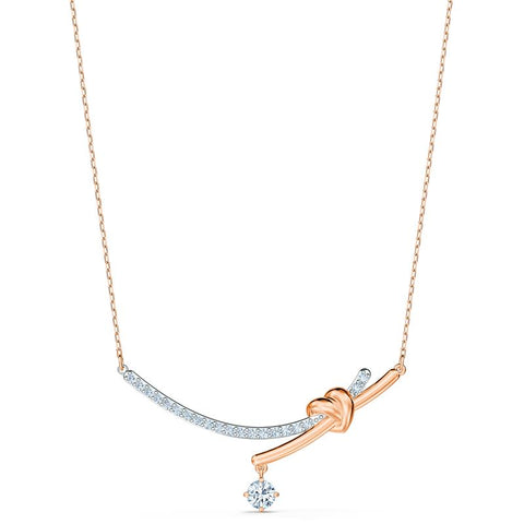 Swarovski Lifelong Heart Necklace Mixed Metal 5517951