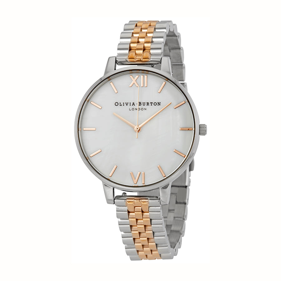 Olivia Burton Mother of Pearl Gold Watch OB16MOP06