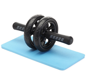 Abdominal Wheel Ab Roller With Mat For Exercise Fitness Equipment