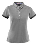 Harvest Larkford Lady polo Black melang