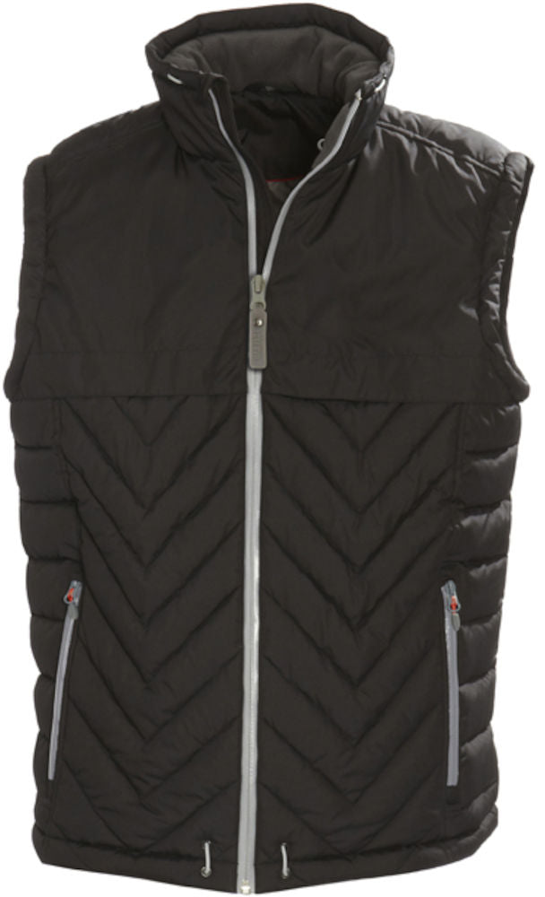 Harvest Burney Vest Black