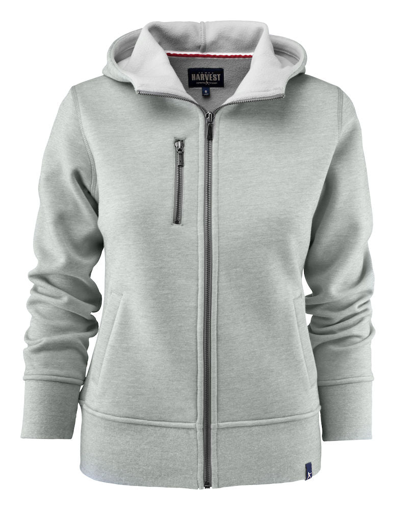 Harvest Parkwick hooded lady jkt Grey melange