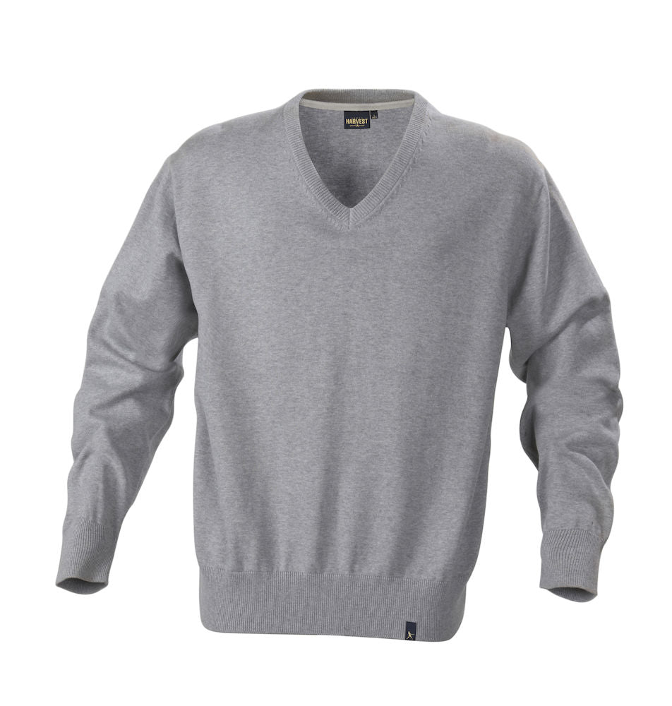 Harvest Lowell pullover Grey melange