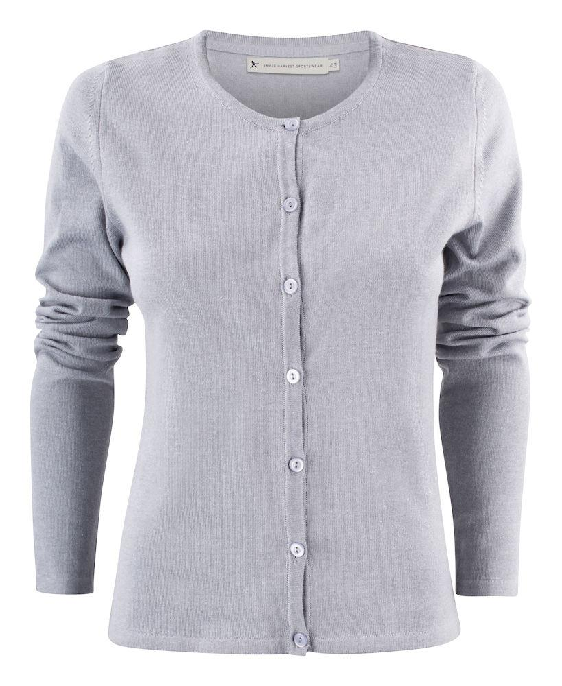 Harvest Sonette Lady Cardigan Grey Melange