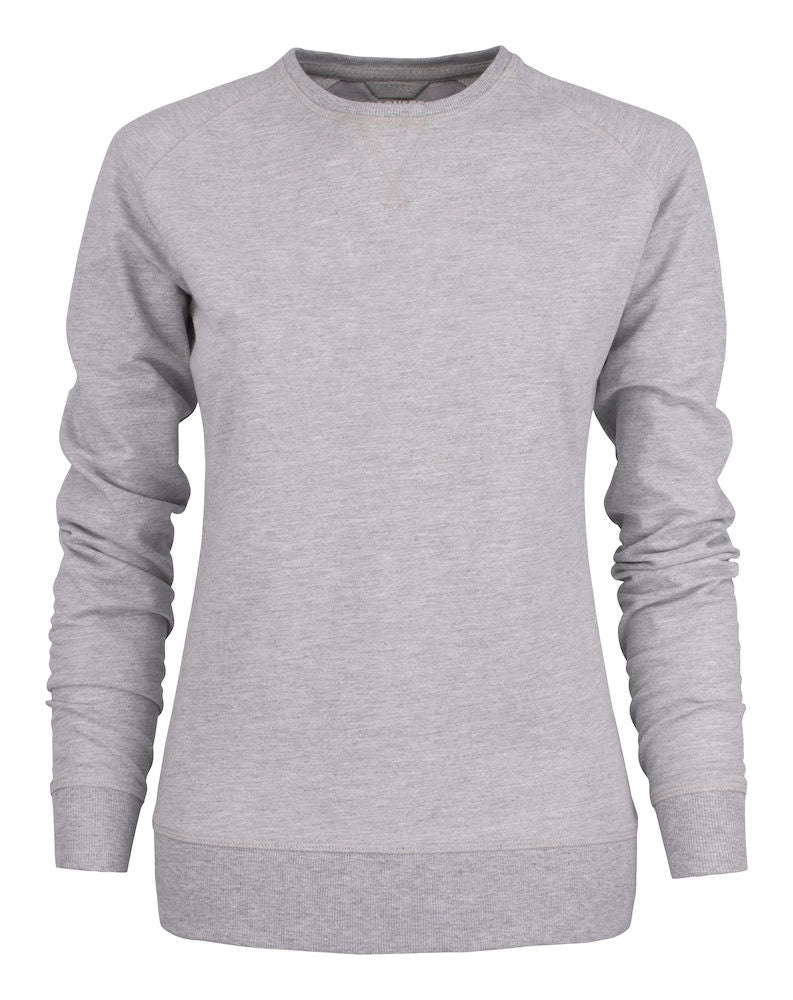 Harvest Cornell ladies crewneck Ash