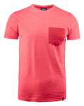 Harvest Portwillow Tee Red melange