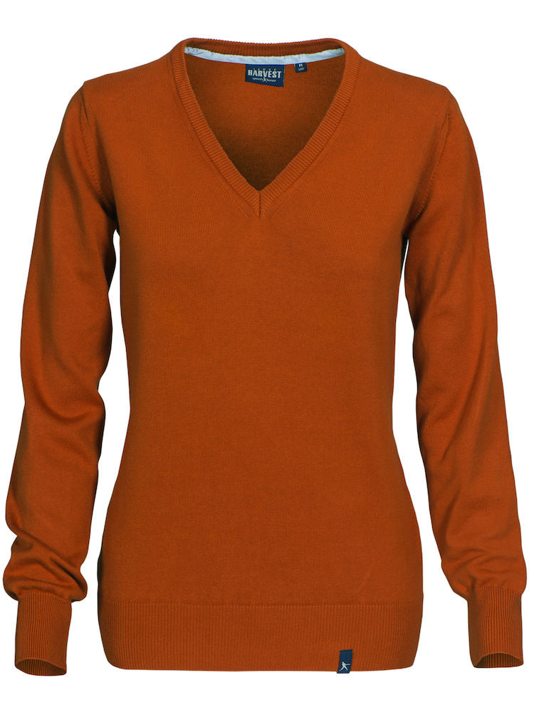 Harvest Nottingmoon Lady pullover Burnt Orange