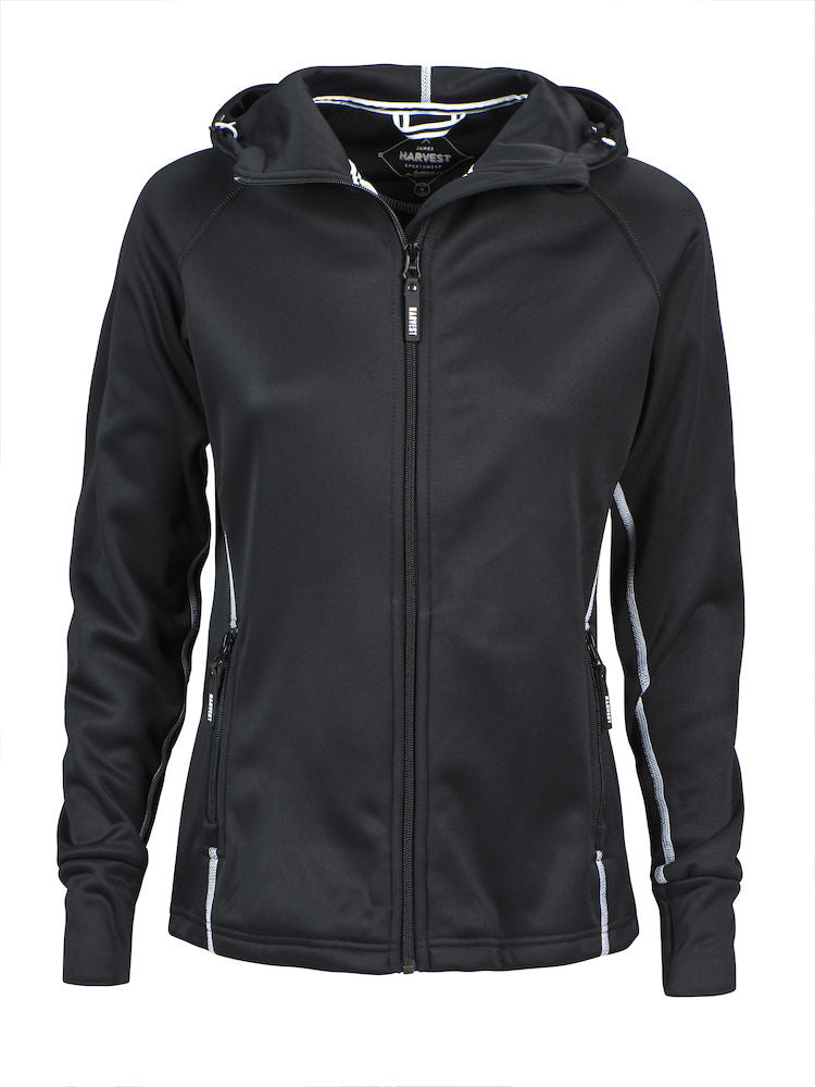 Harvest Northderry Lady fleece Black