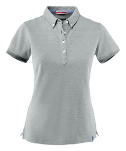 Harvest Larkford Lady polo Grey melange
