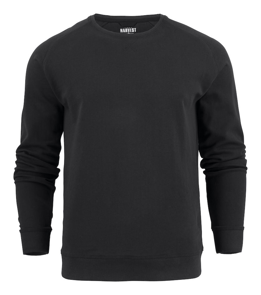 Harvest Cornell crewneck Black
