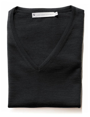 Harvest Westmore Lady merino pullover Black