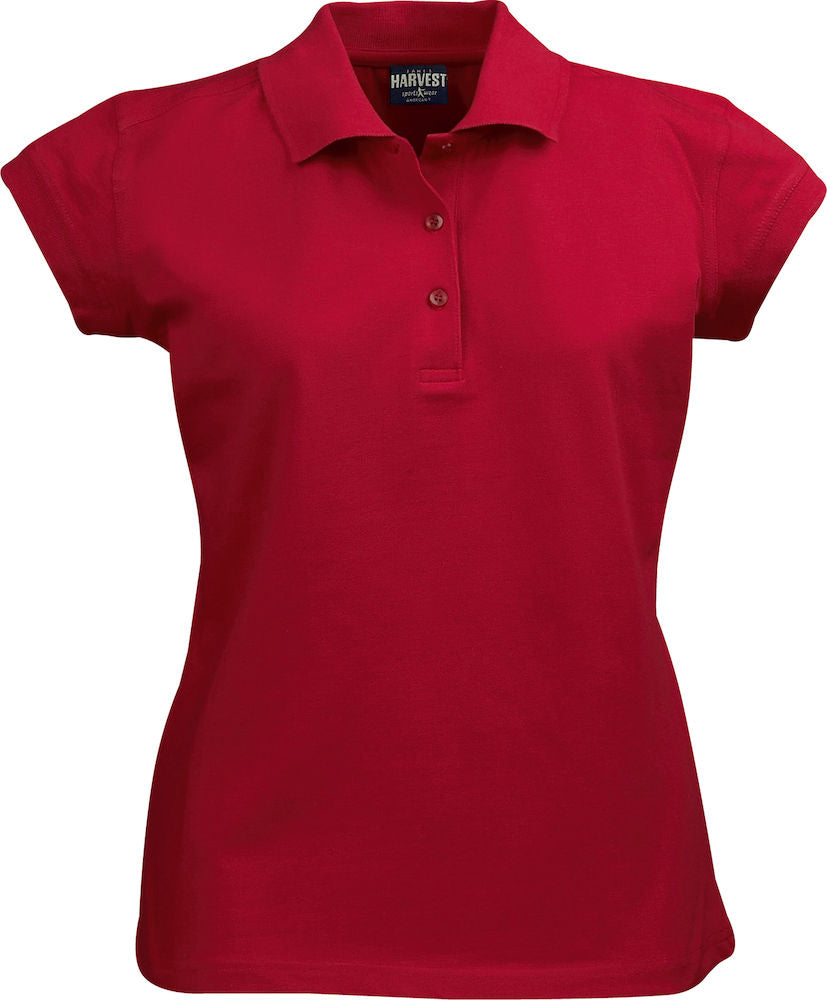 Harvest Birdie ladies piqué Red