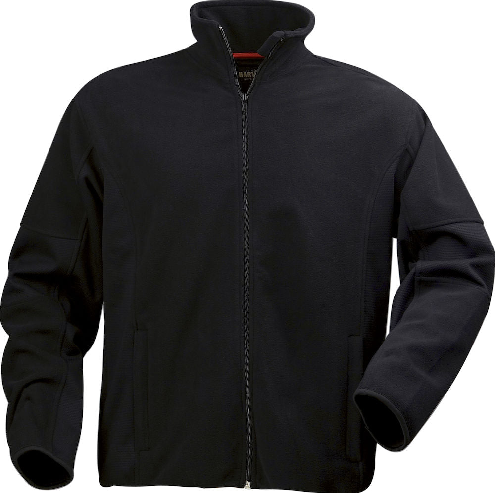 Harvest Lancaster men fleece Black