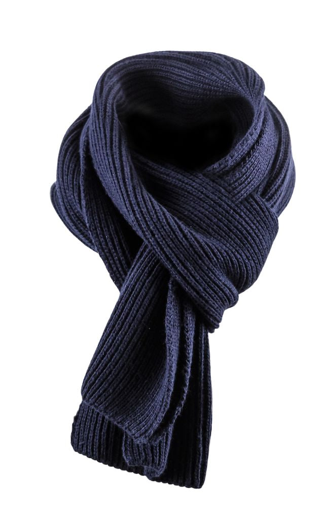 Harvest Easthope Ribscarf Navy One size