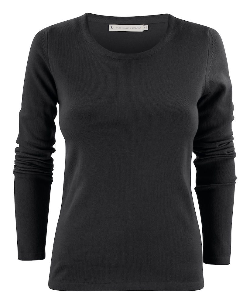 Harvest Portland Lady r-neck pullover Black S