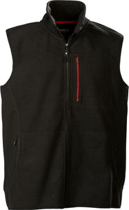 Harvest Pasadena fleece vest Black