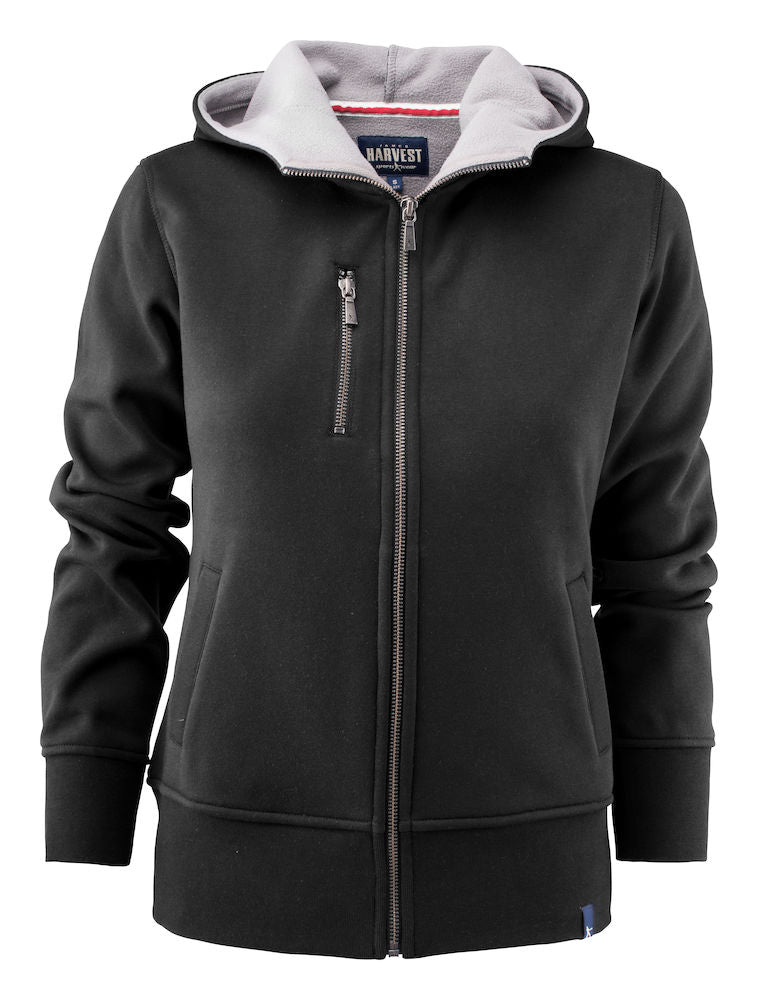 Harvest Parkwick hooded lady jkt Black