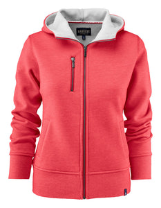 Harvest Parkwick hooded lady jkt Red melange