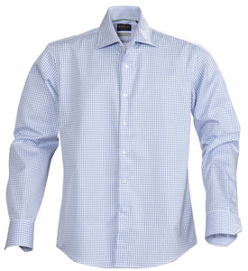 Harvest Tribeca checked shirt l.blue